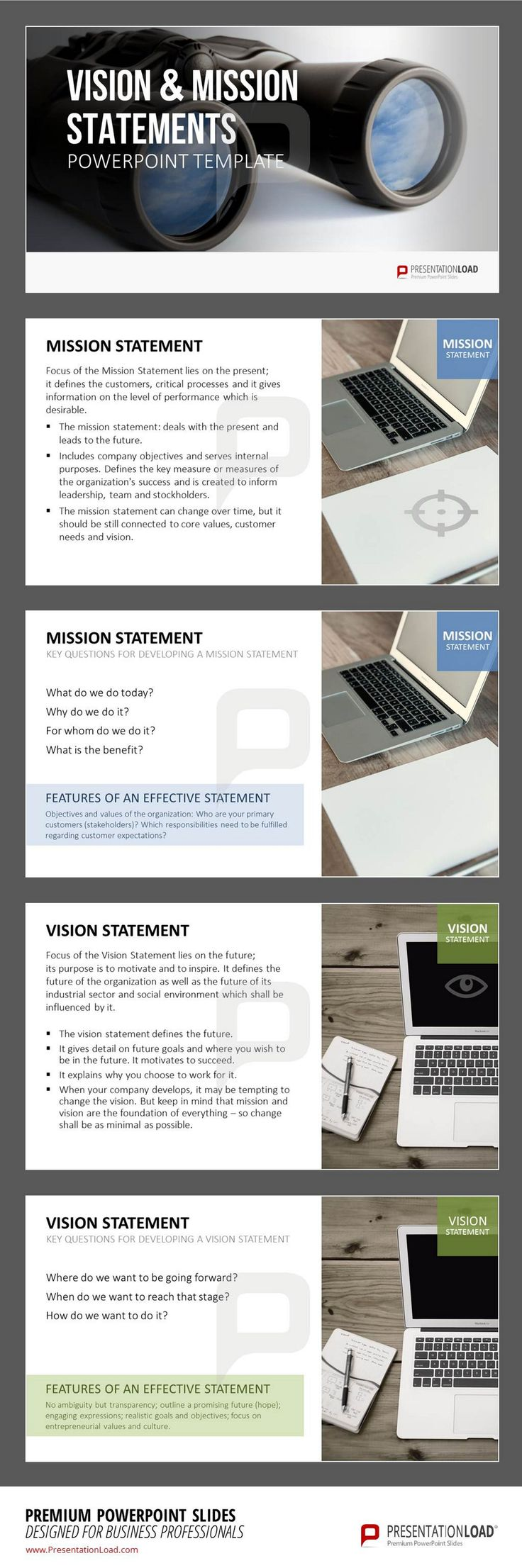 73 best company presentation powerpoint templates images on our new powerpoint set themed upon the topic of vision and mission not only provides you toneelgroepblik Gallery