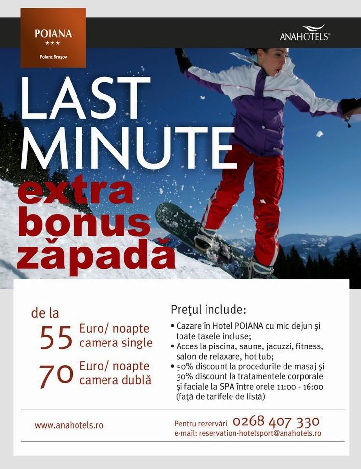 Last Minute la Hotel Poiana