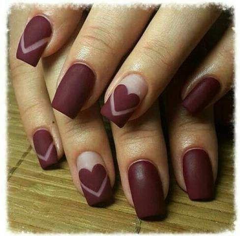 Best 25+ Wine nails ideas on Pinterest | Maroon nail ...
