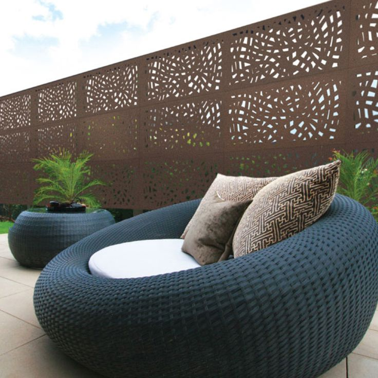 Nest Design  1200 mm(H) x 600 mm(W) Panels.  80% Privacy/ Blockout.  Available at Chippy's Outdoor