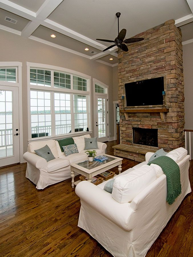 Great Room From The Silvergate Plan 1254 D Http Www
