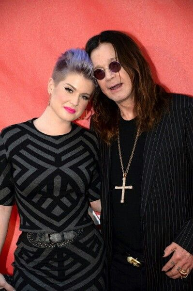 Ozzy Osbourne and daughter, Kelly