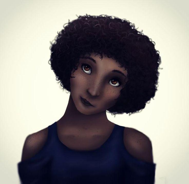 """10 Likes, 5 Comments - Bianca Van Harmelen (@bianca_van_harmelen) on Instagram: """"#illustration #digitalart #portrait"""""""