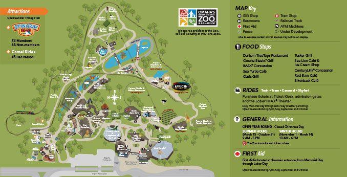 Zoo Map   Omaha's Henry Doorly Zoo   Entertainment in Omaha   Visit Omaha