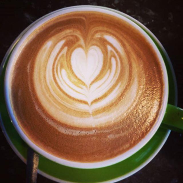 Latte Art   #latteart #coffee #cafe #caffiene #coffeelover #latte #flatwhite #coffeeshop #zestcafe #nowra #shoalhaven #allpressau #allpress #cappuccino #preworkout #tulip #freepour #barista #espresso #love #work #workaholic #coffeeaddict #coffeetime