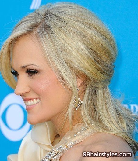 simple long blonde wedding hairstyle - 99 Hairstyles Ideas