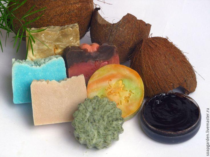 """Купить Набор мыла """"Морское путешествие"""", соляное, тропическое - разноцветный, набор мыла, набор косметики"""