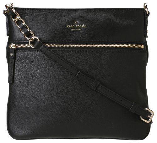 Kate Spade New York Cobble Hill Ellen Cross-Body,Black,one size [ List Price: $238.00 Buy Now: $219.35 & FREE Shipping] #Handbags