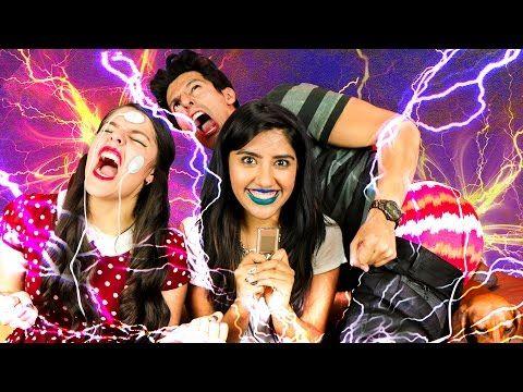 ELECTROSHOCKS EN EL CUERPO | RETO POLINESIO LOS POLINESIOS - YouTube