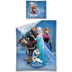 Parure de lit Frozen - Sven Kristoff Elsa Anna et Olaf