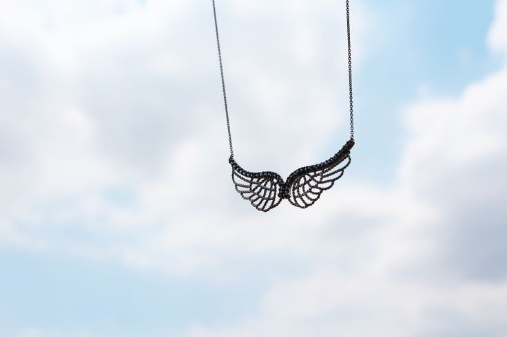 Wings necklace ! Find it on https://www.goldentiara.gr/index.php?route=product/product&path=60_76&product_id=458