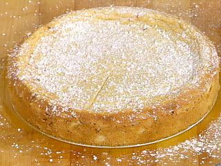 Italian Ricotta Cake, made w/box of white cake mix, which I have in pantry - so gonna try it.  Makes 2 nine inch cakes, spare can be frozen for future, my kind of recipe BONUS!  Just thought of something ~ to punch up the flavor a bit consider using box of French Vanilla cake mix!