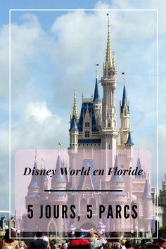 Carnet de voyage : Disney World en Floride : 5 jours, 5 parcs