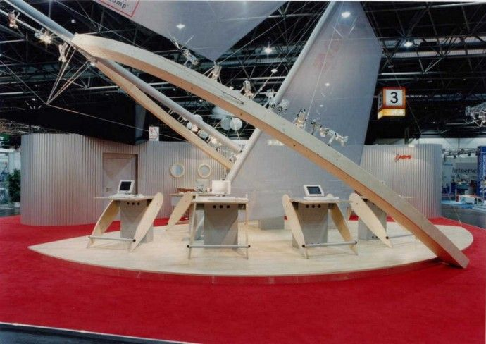 Exhibition Stand Circle : Spectacular exhibition stand design