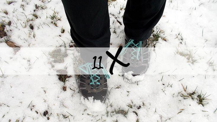 Vandaag wandelde ik 11 kilometer door Natuurgebied Willeskop. Daarom een fotoverslag met 11 winterse foto's. Elke kilometer een foto.