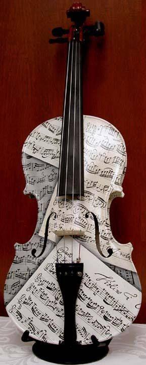 ...ver, escutar, sentir..violino...