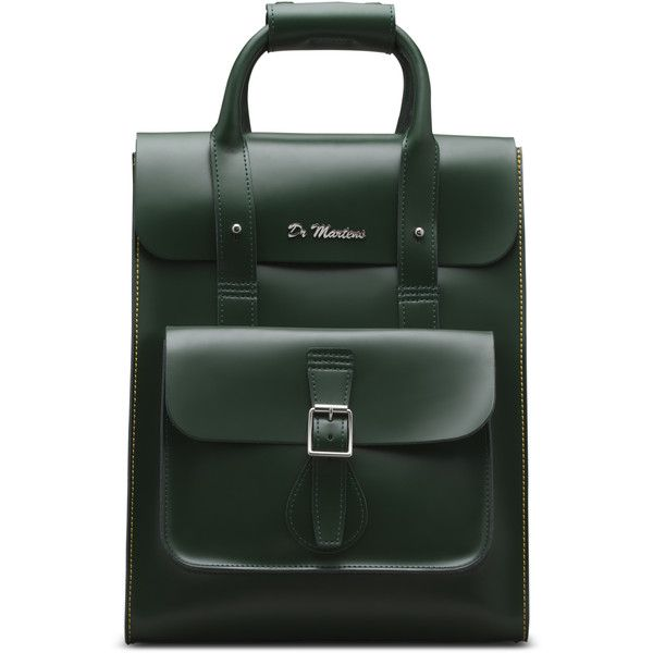 79250ed300 Dr. Martens Small Leather Backpack ( 216) ❤ liked on Polyvore featuring bags