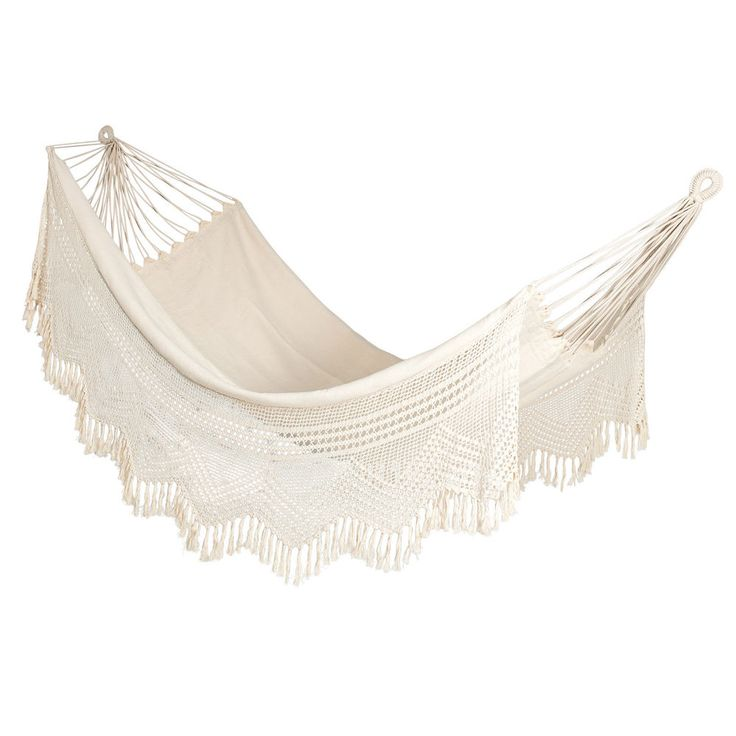 Hangit Mexican Brazilian Hammocks Swing With Crochet