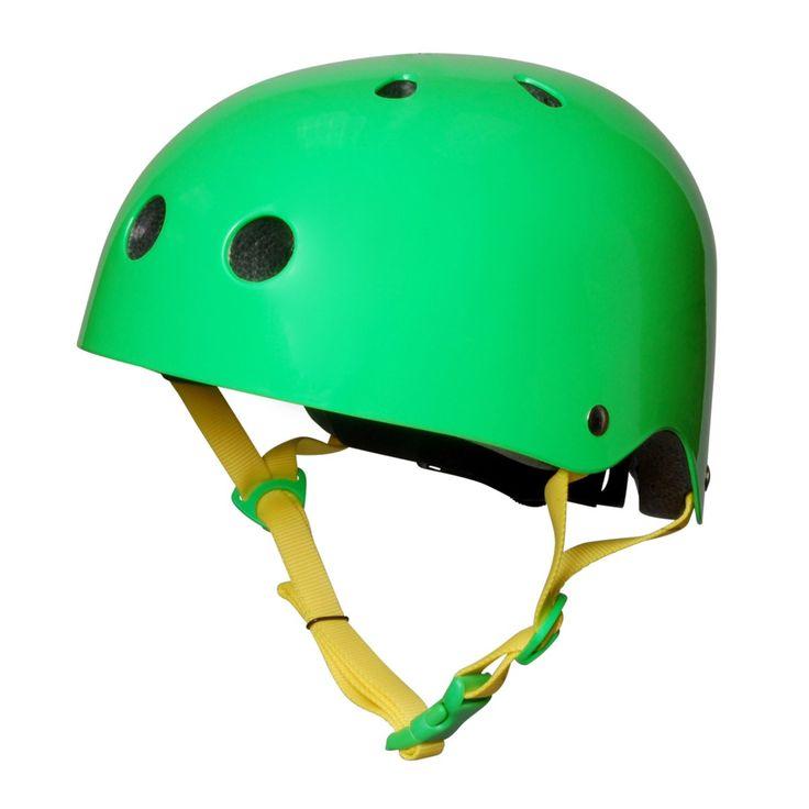 Kiddimoto Helmets - Kiddimoto Kids Helmet - Neon Green