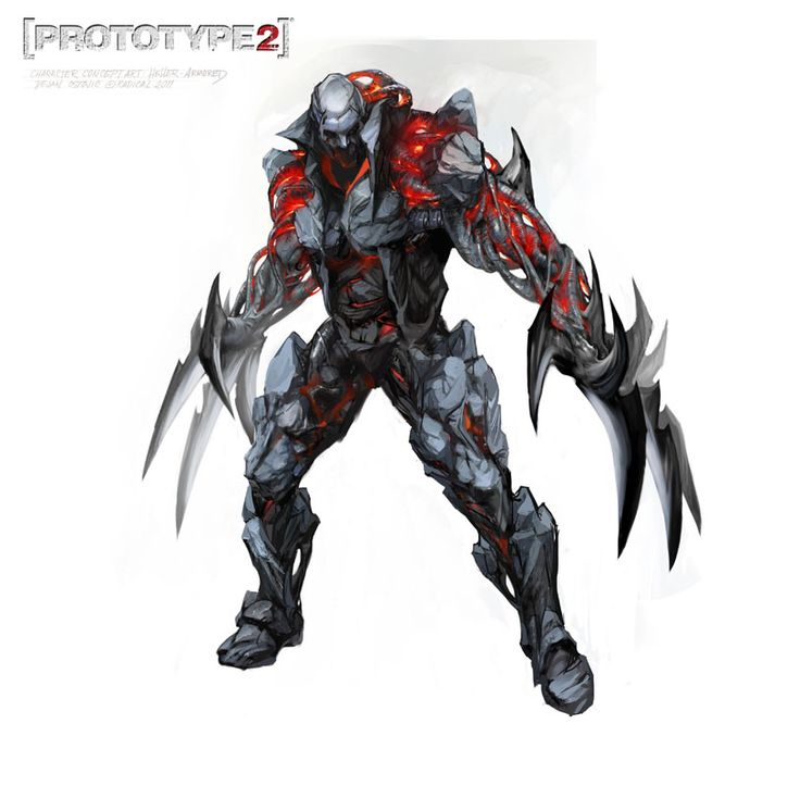 James Heller (Armor) - Prototype 2