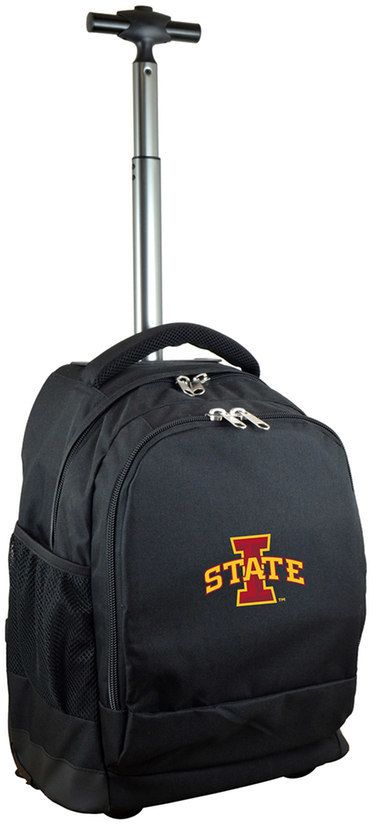 NCAA Iowa State Cyclones Premium Wheeled Backpack