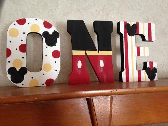 Cartas de apoyo de foto Mickey Mouse por PrettyCustomGifts en Etsy