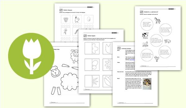 Plusthema Lente - Lespakket met 39 blz. http://onderwijsstudio.nl/plusthema-lente/#more-6705