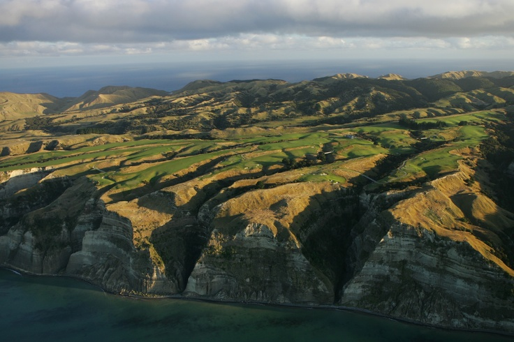 Just a exquisite aerial shot of Cape Kidnappers Golf Course!