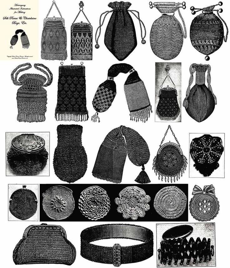 Retro Rack: Time Traveler ~ Reticules & Victorian Accessories