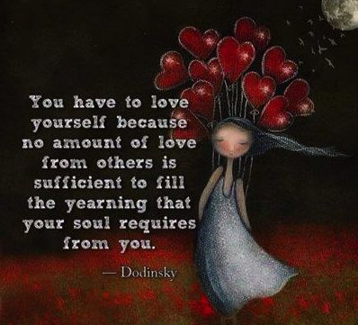 Love yourself first!