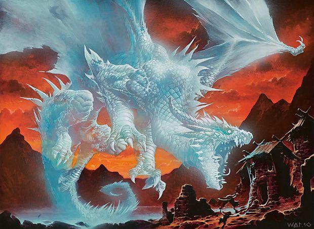 Phantasmal Dragon - Wayne Reynolds