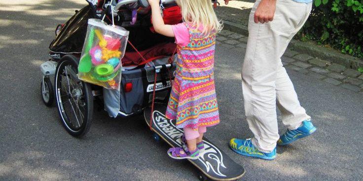 Pimp your Chariot / Thule: DIY Zubehör für den Kinderwagen - matschbar