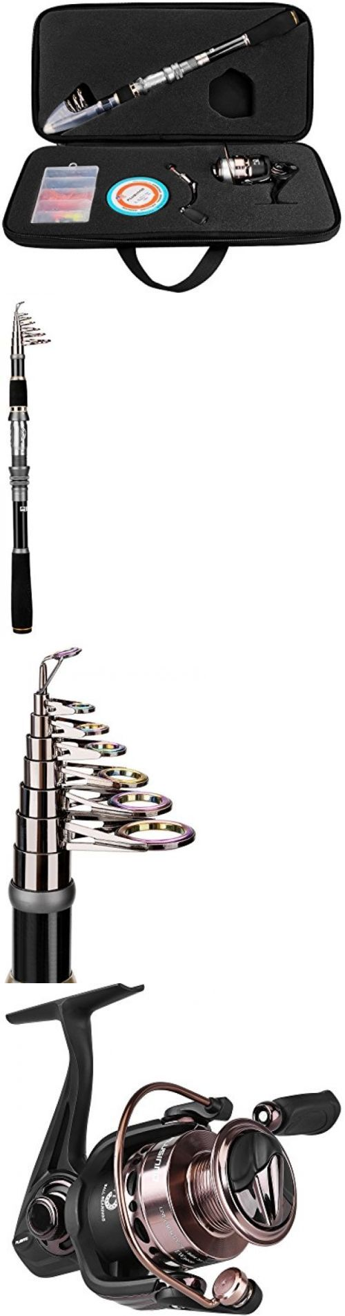 Other Rod and Reel Combos 179960: Plusinno Telescopic Fishing Rod And Reel Combos Full Kit, Spinning Fishing Gear -> BUY IT NOW ONLY: $73.24 on eBay!
