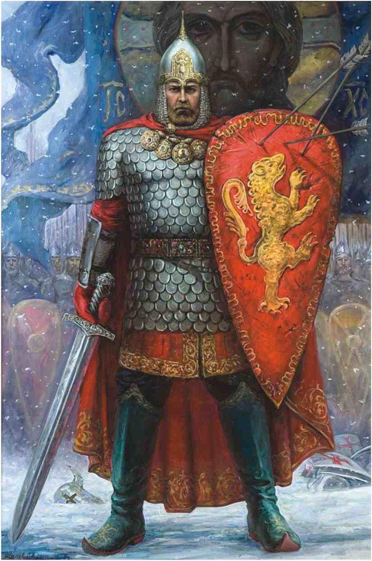 князь александр невский фото изображение картина помощью ионизирующих лучей