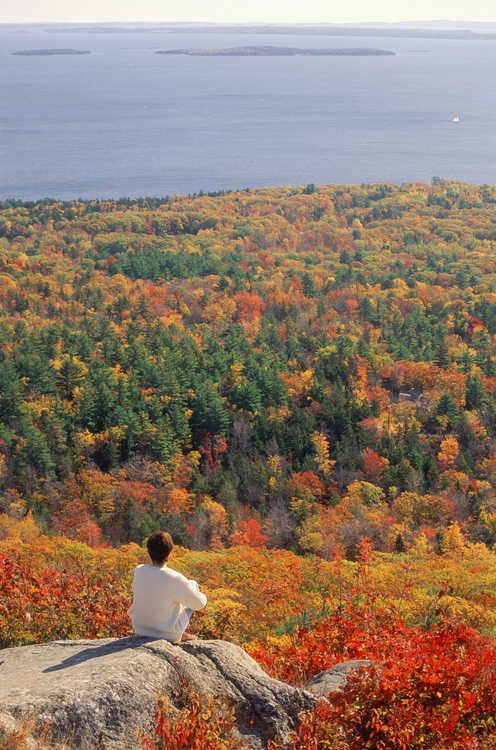 Camden, Maine Mount Battie in the Fall. Always enjoy going there. The colors are breathtaking.