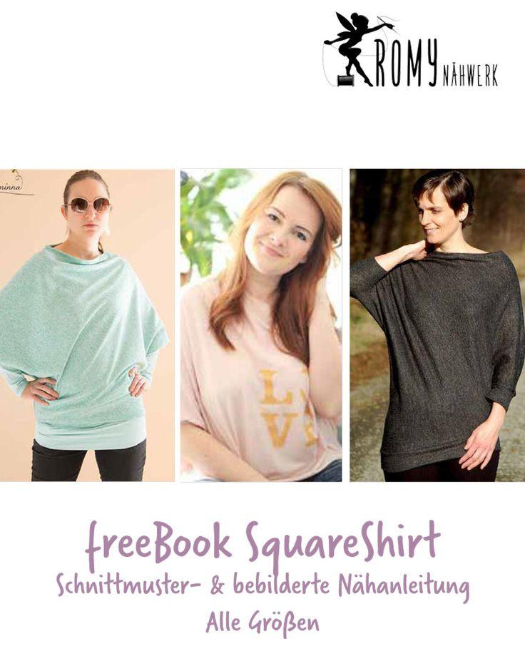 """Freebook - """"Square Shirt"""" - Shirt - Romy Nähwerk"""