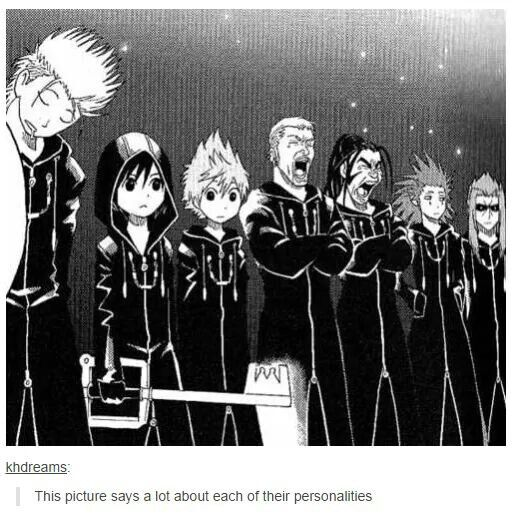 1000+ Images About Organization XIII/ KH On Pinterest