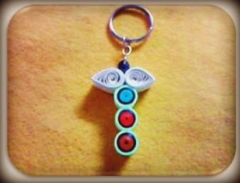 Letter T Key-Chain