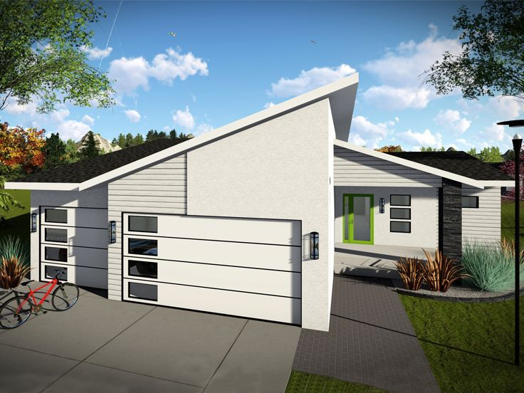020H-0460: Modern Ranch House Plan with Open Floor Plan ...