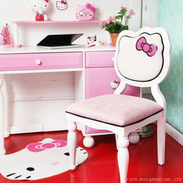 Hello Kitty Desk And Chair Sanrio Home Of