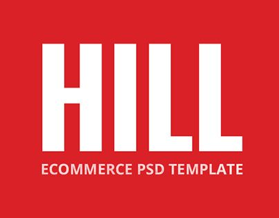 """Check out new work on my @Behance portfolio: """"HILL - Premium Bootstrap eCommerce PSD Template"""" http://on.be.net/1KwcJhe"""