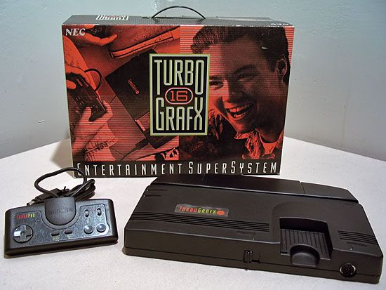 Turbo Graphics 16 - Those poor poor Sega and Nintendo owners had no idea that the future of console gaming was already available. This revolutionary system had already figured out that 2 players was not enough, supporting controllers and games for 1-5 players! Tons of arcade style games, and home to the original game of the successful franchise: BOMBERMAN! With 4 brothers, having this system in our home growing up was a no-brainer.