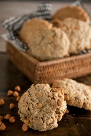 Oatmeal Scotchie Cookie #pauladeen