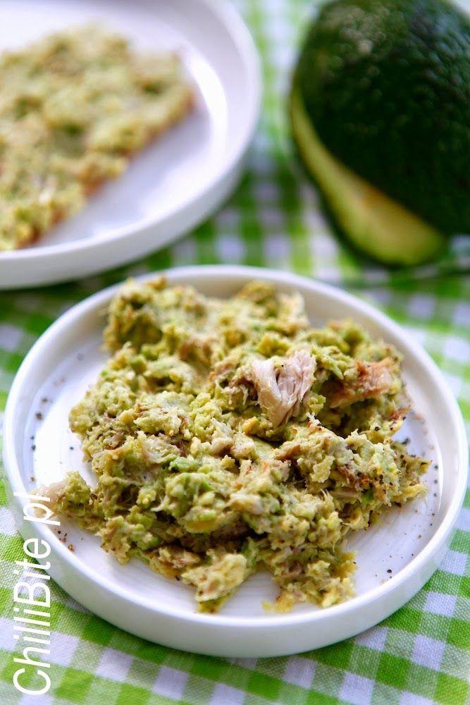 ChilliBite.pl - Pasta z awokado i wędzoną rybą
