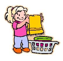 Laundry - teach kids to fold