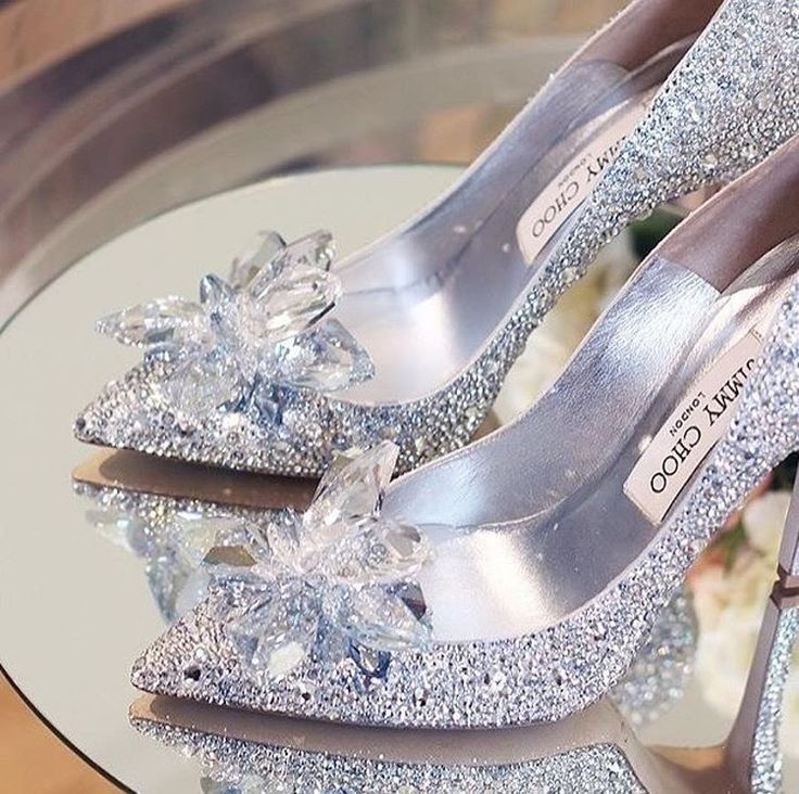 Jimmy Choo is one of the best brands to go to if you're looking for glamorous, bling and top of the line luxury wedding shoe. Talk about being a princess on your wedding day!! Style: Cinderella 100 $4,595