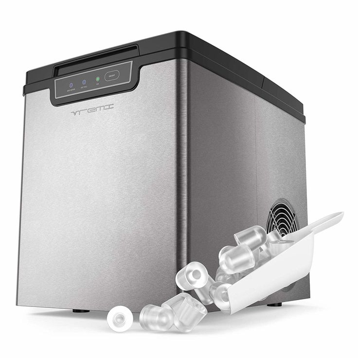 Vremi Countertop Ice Maker Ice Cubes Ready In 9 Mins Makes 26