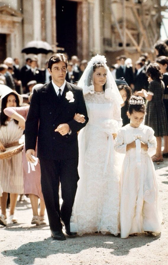 The Godfather - one of the best movies of all time. Traditional Italian wedding