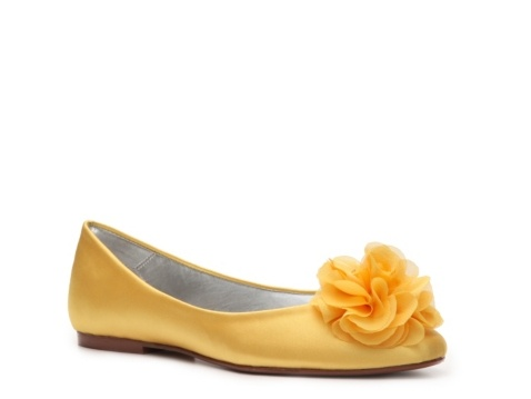 Caparros Wed Flat-  These would look great on my girls and make waking in the grass easier