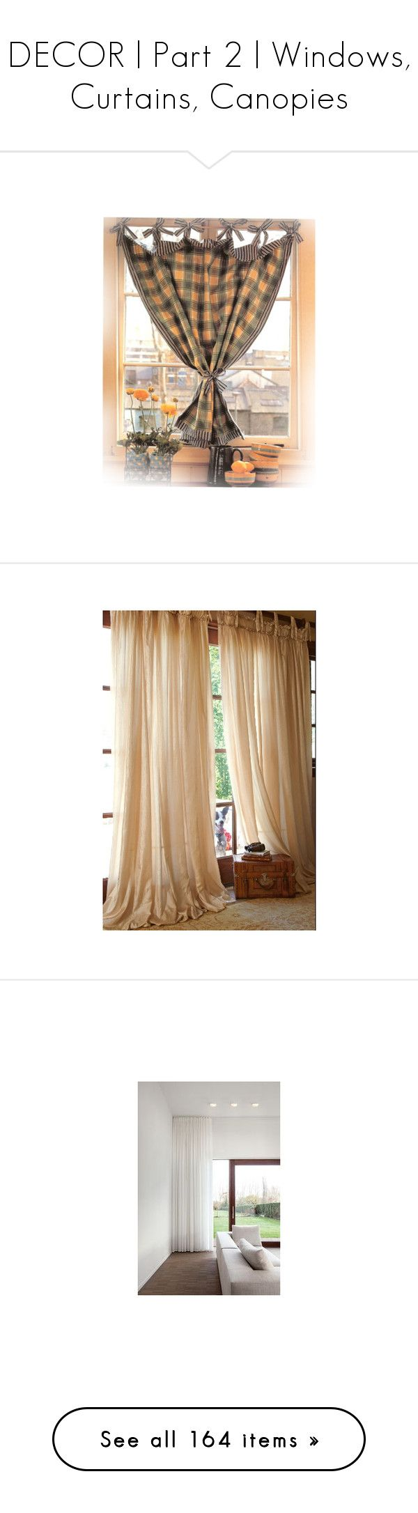 Ho how to tie balloon curtains -  Decor Part 2 Windows Curtains Canopies By Annmaira Liked